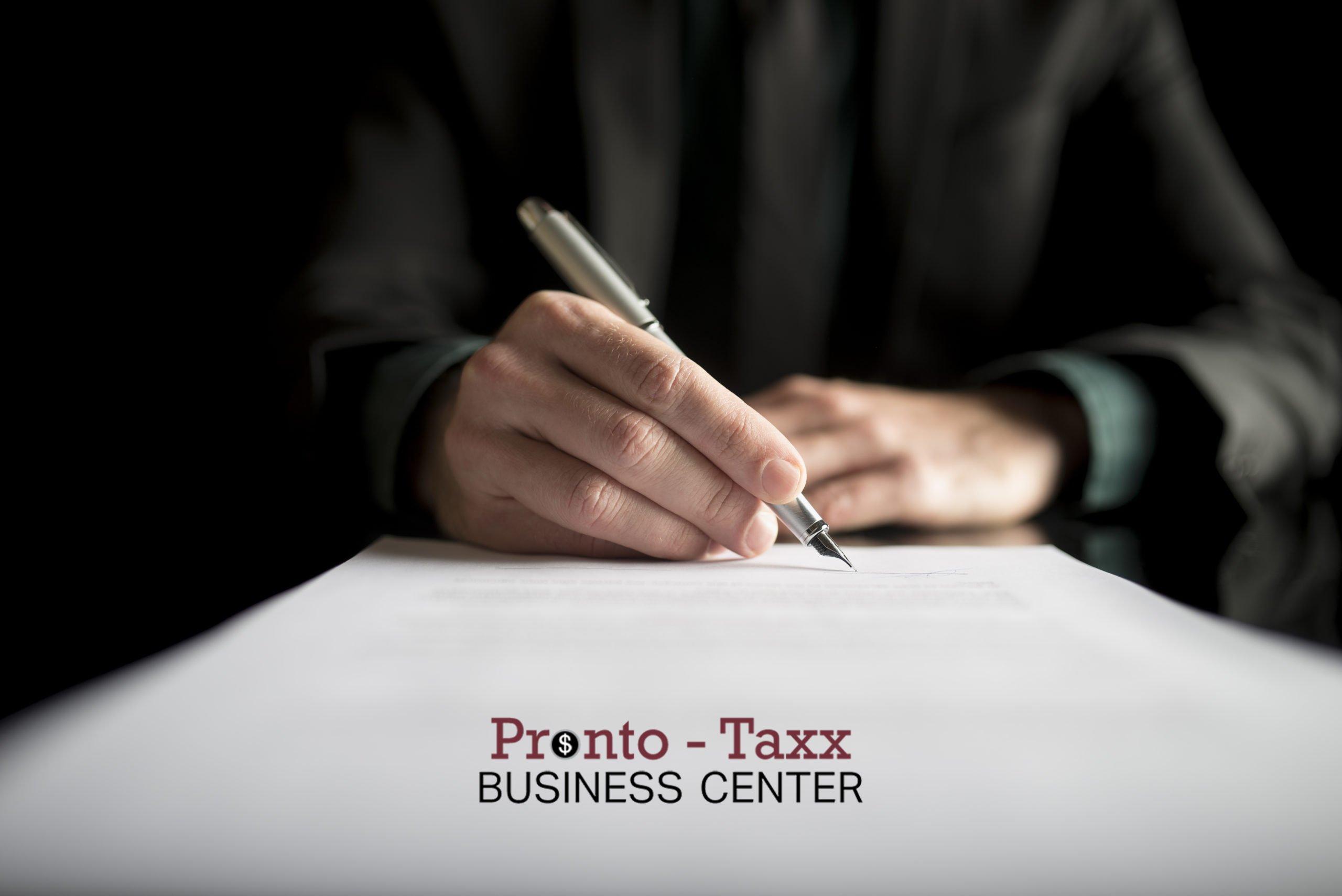 Pronto Taxx